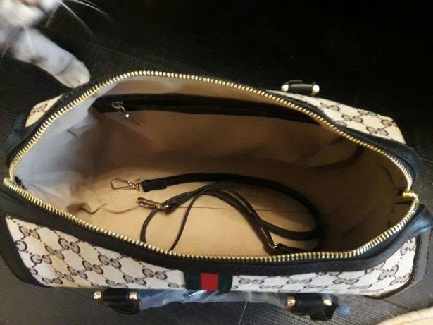 4be314bf1dd3 Реплика cумки Gucci в Северо-Курильске. Женская Кожаная сумка GG (реплика)  купить