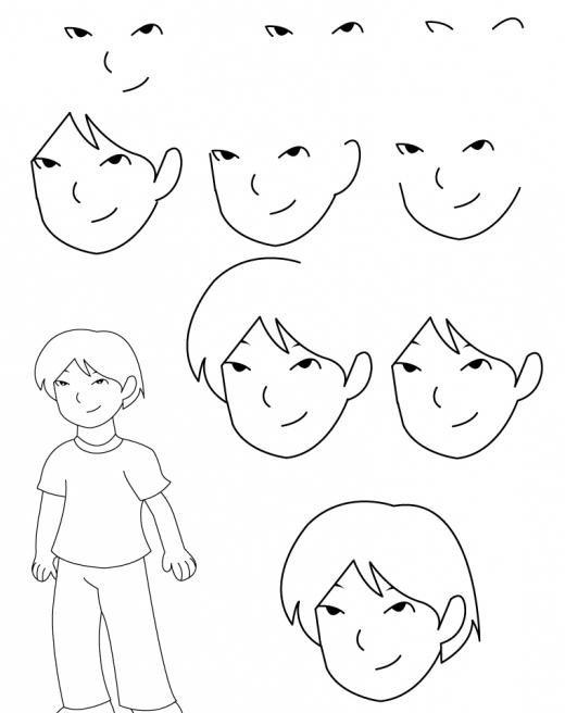 Картинки для мальчиков рисовать легко, открытка мама