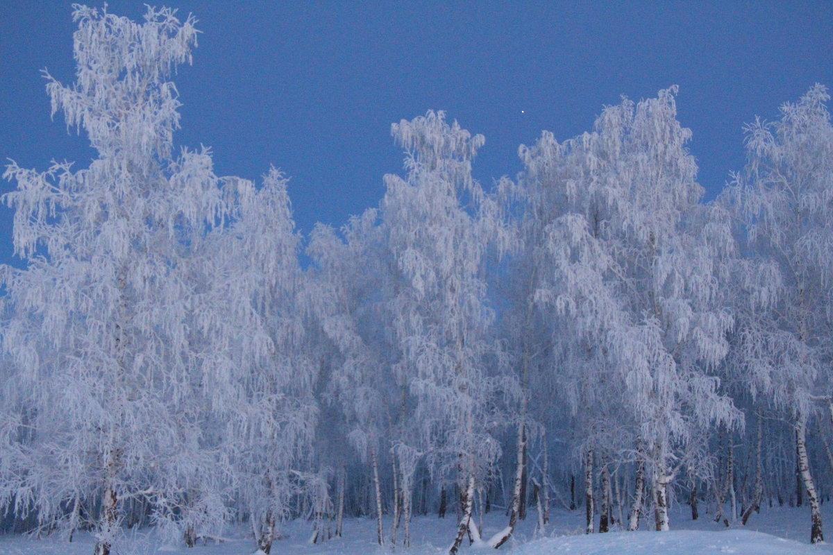 слайд фото зимы в россии рамках