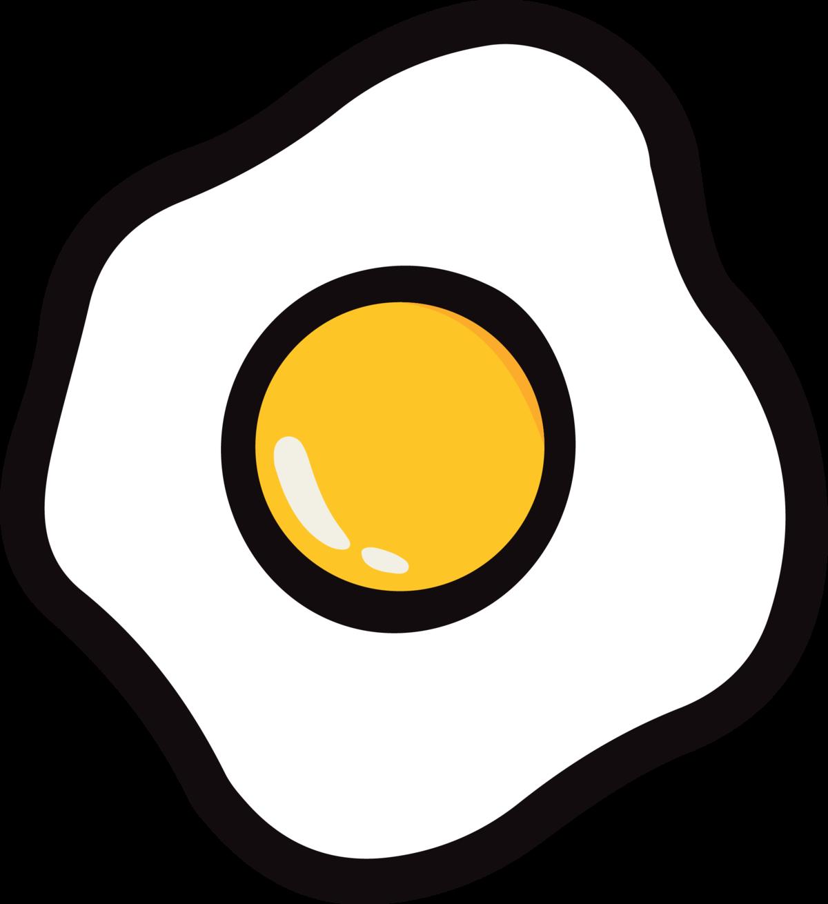 Картинки нарисованная яичница