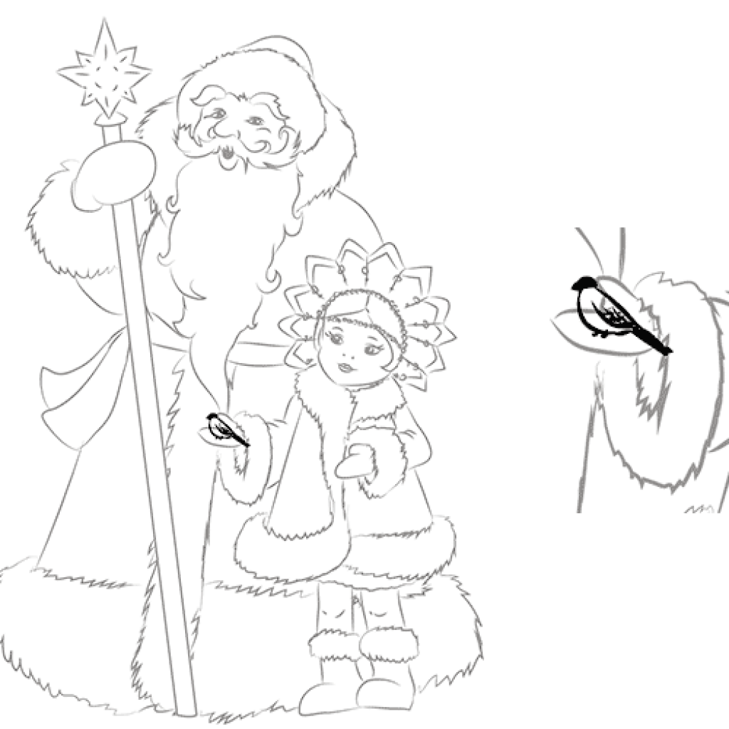 Что нарисовать в открытке деду морозу