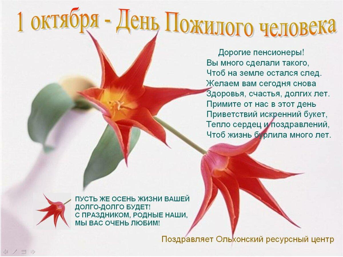 Поздравительные открытки к пожилому человеку