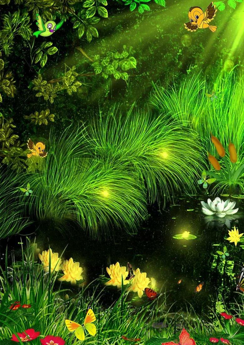 Открытка с природой добрым утром, открытка фото