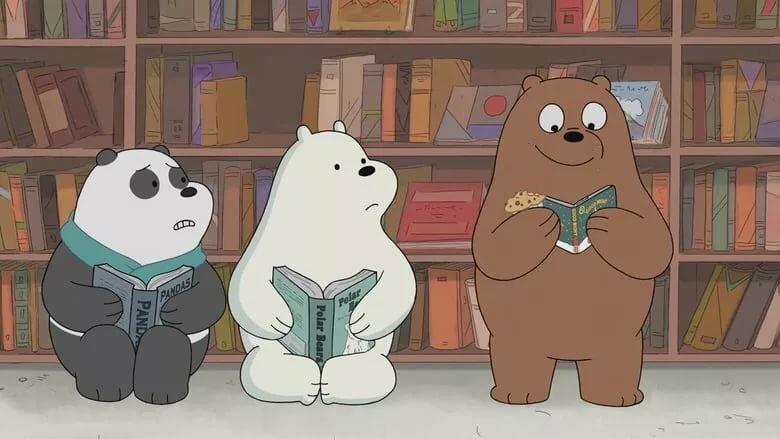 Картинки три медведя из мультика вся правда о медведях