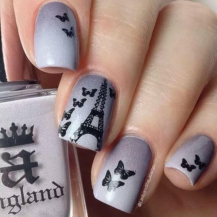 них дизайн ногтей картинки парижа перестройка