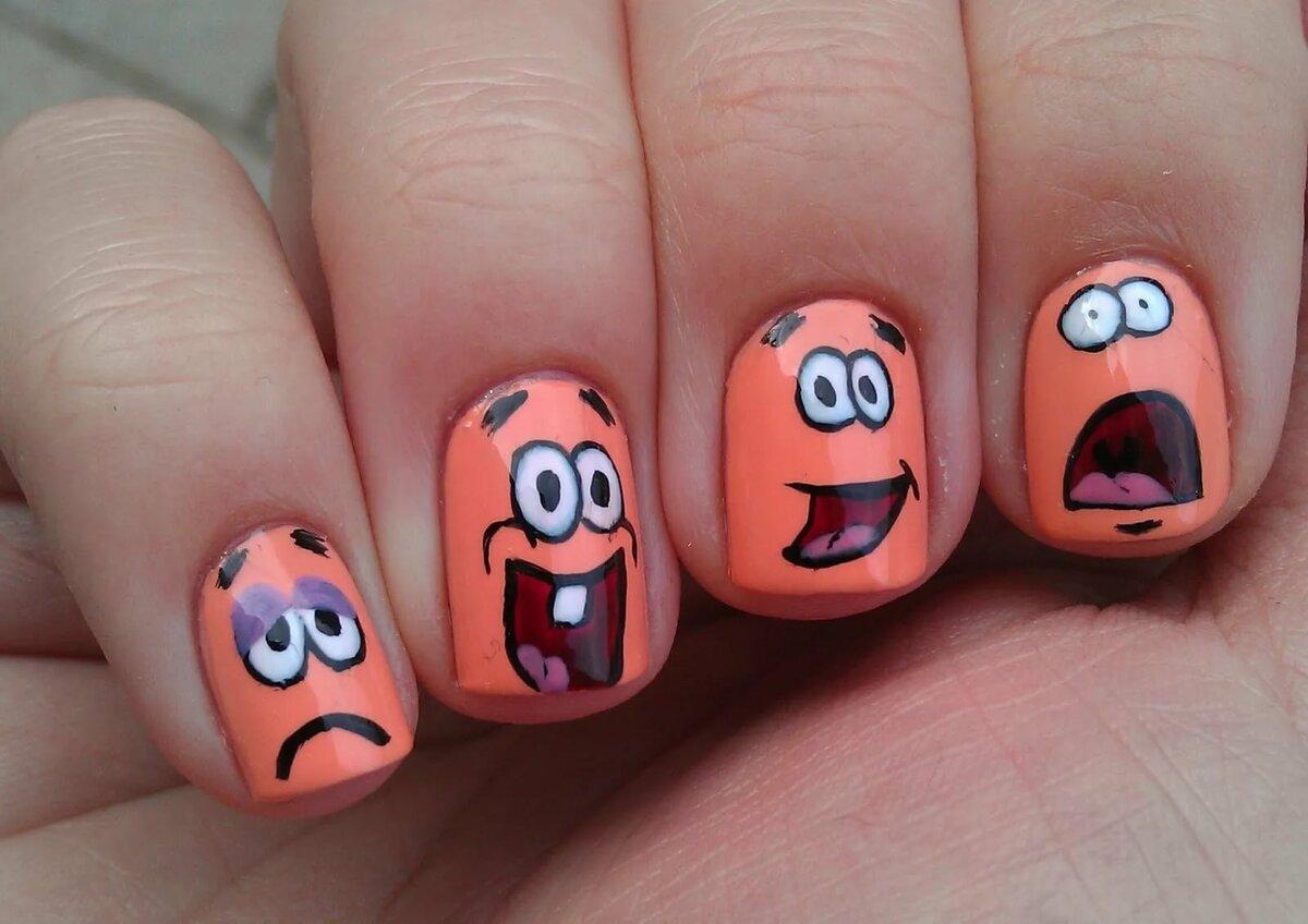 Рисунки на ногти в домашних условиях в картинках