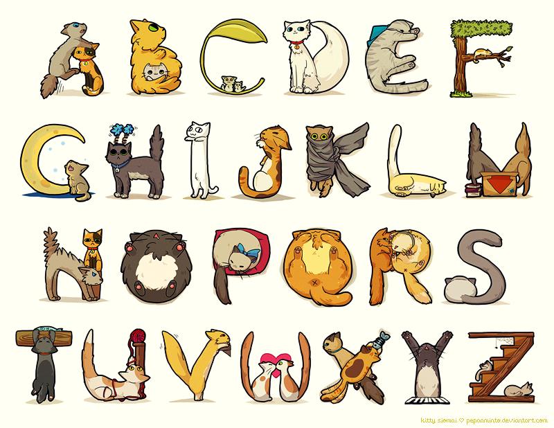 картинки необычного алфавита открыток изготовление