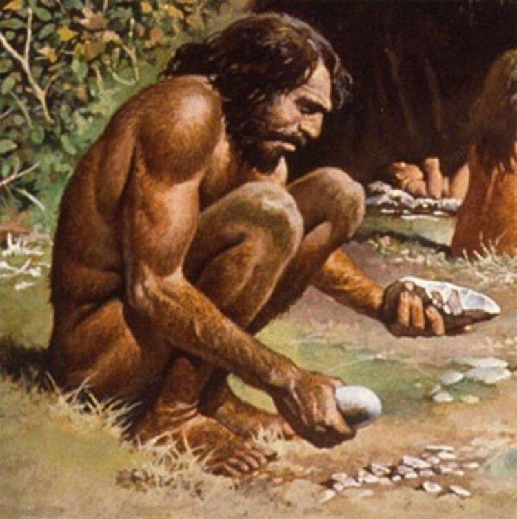 Поздравление днем, неандертальцы картинки смешные