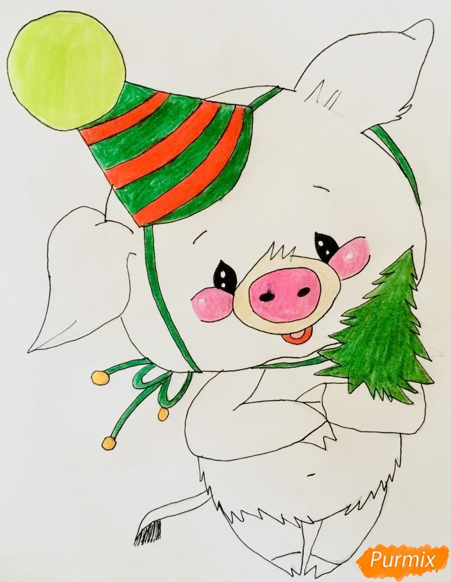 Картинки как рисунки новый год