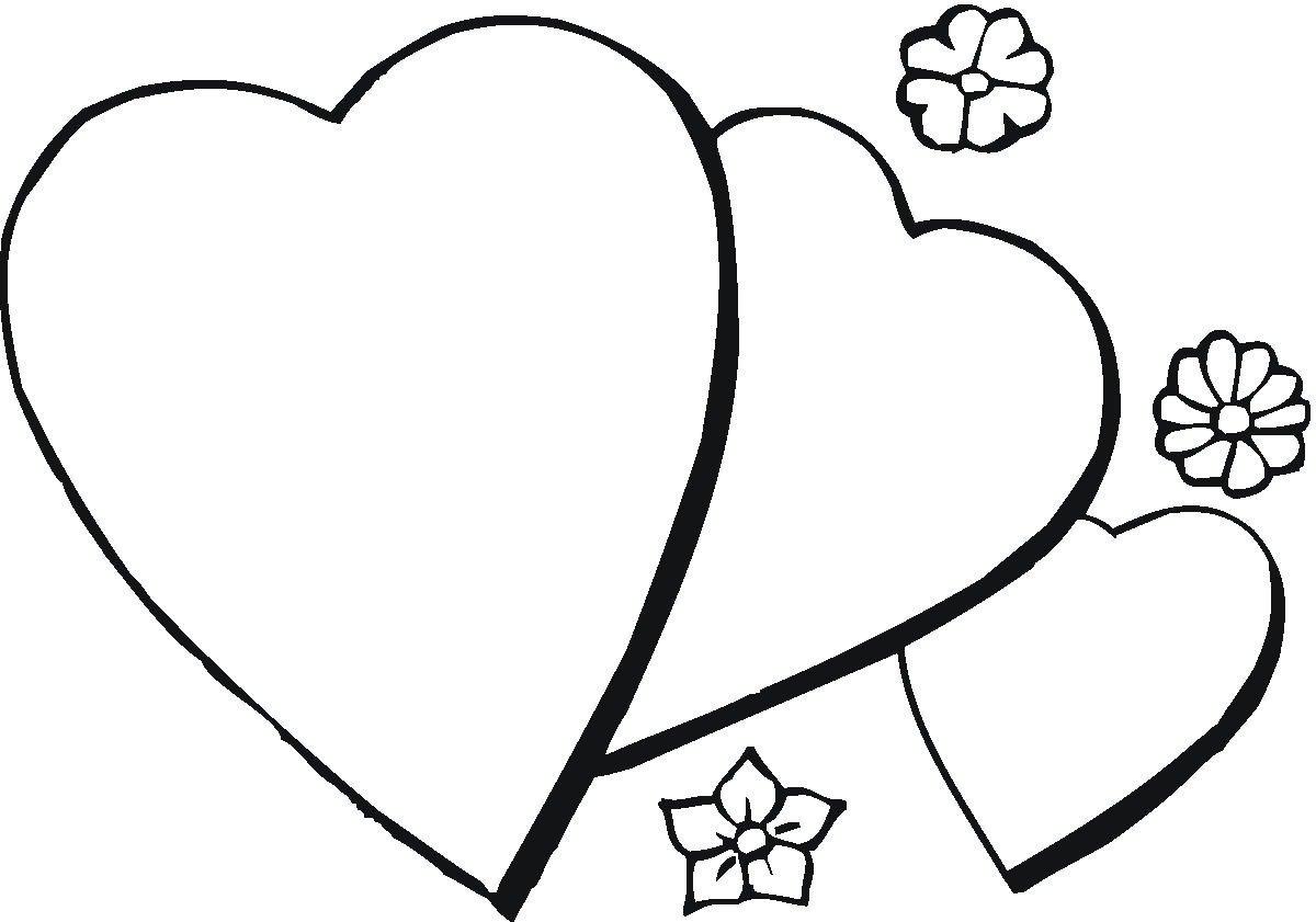 Сердечки открытки распечатать