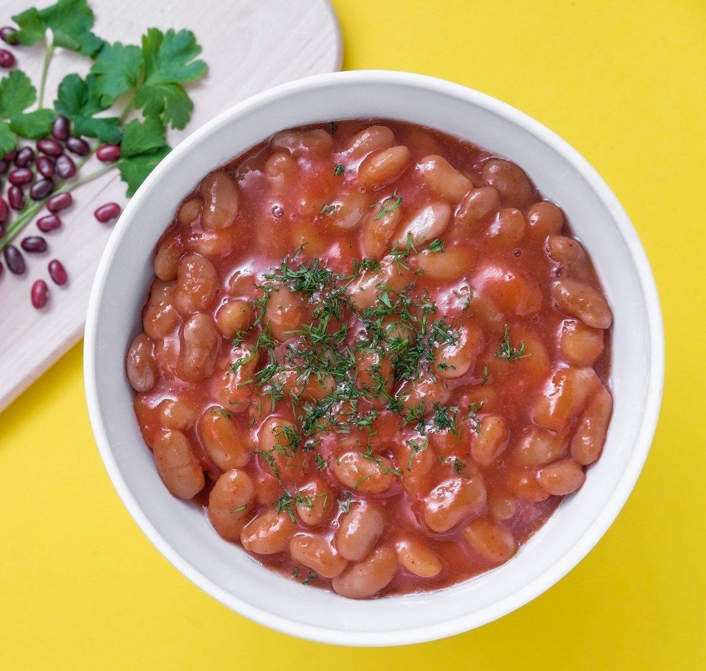 фасоль в томатном соусе с фото своих женских