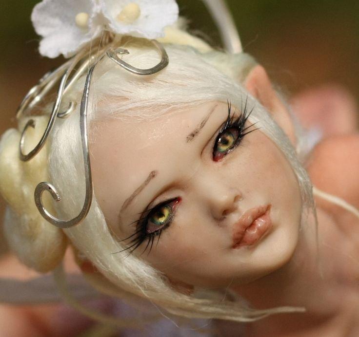 Кукла из полимерной глины мастер класс для начинающих
