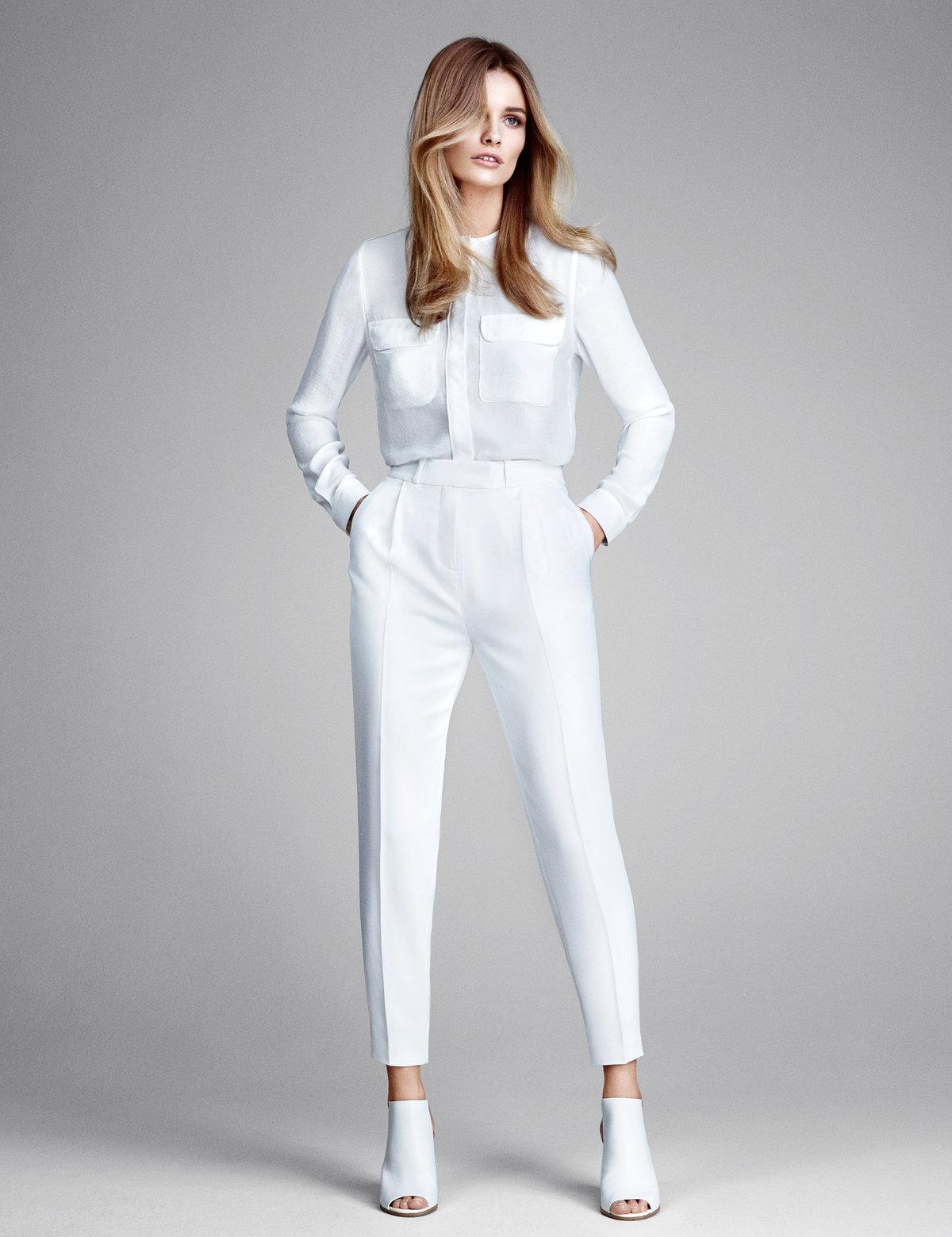 один женские белые брюки картинки сети нетрудно найти
