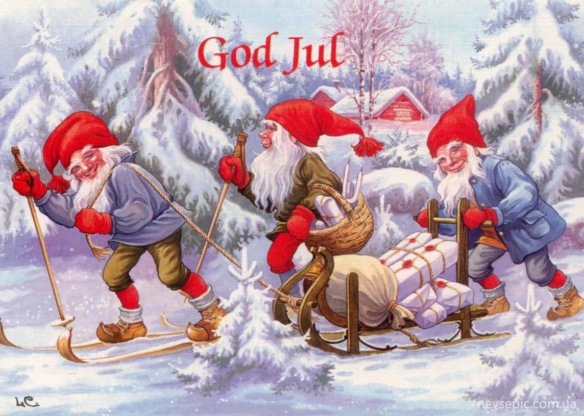 Открытка с швецким рождеством, картинки короля медведя
