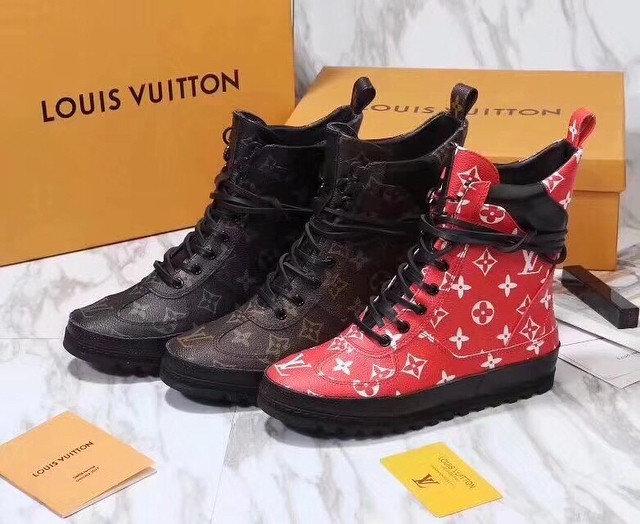 Сапоги зимние Louis Vuitton женские. Ботинки меховые женские зимние новые -  купить Подробности.. 7e9404f51bd