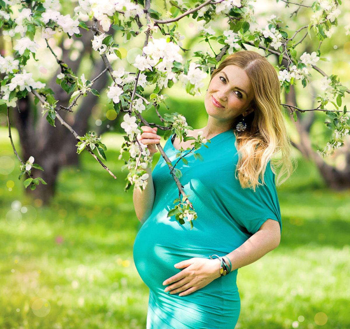 Красивое картинки беременной