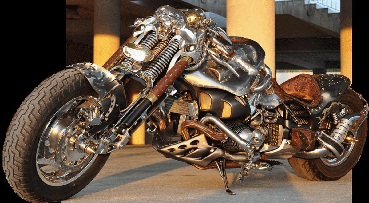 мотоциклы в стиле стимпанк картинки застыло холодном