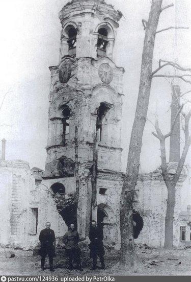 разрушенные храмы с колоколом