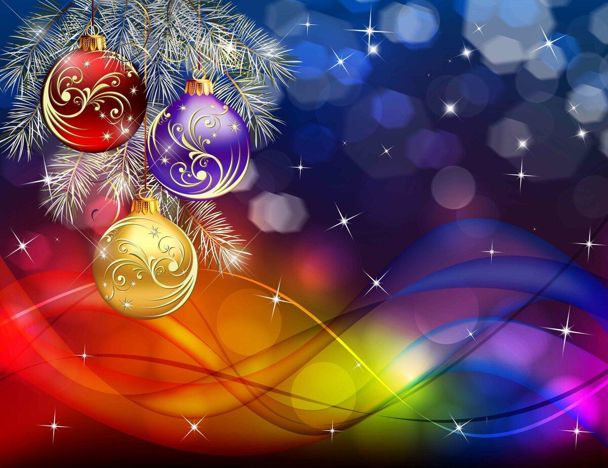 Картинки, красивый новогодний фон для открыток