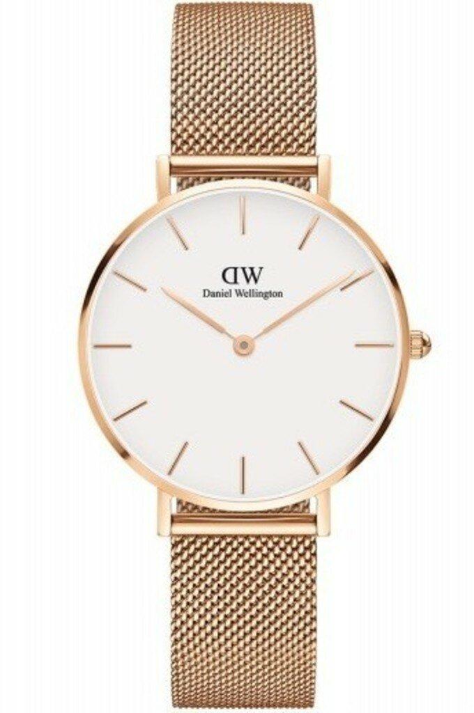 Dw даниэль веллингтон женские dw мелроуз розового тона из нержавеющей стали часы.
