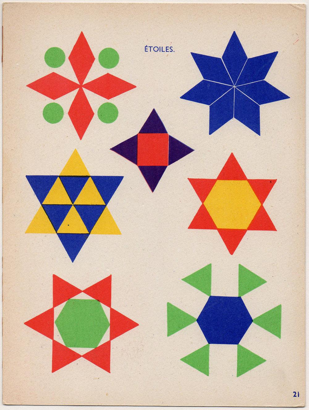 картинки из треугольников кругов и квадратов для школы многих