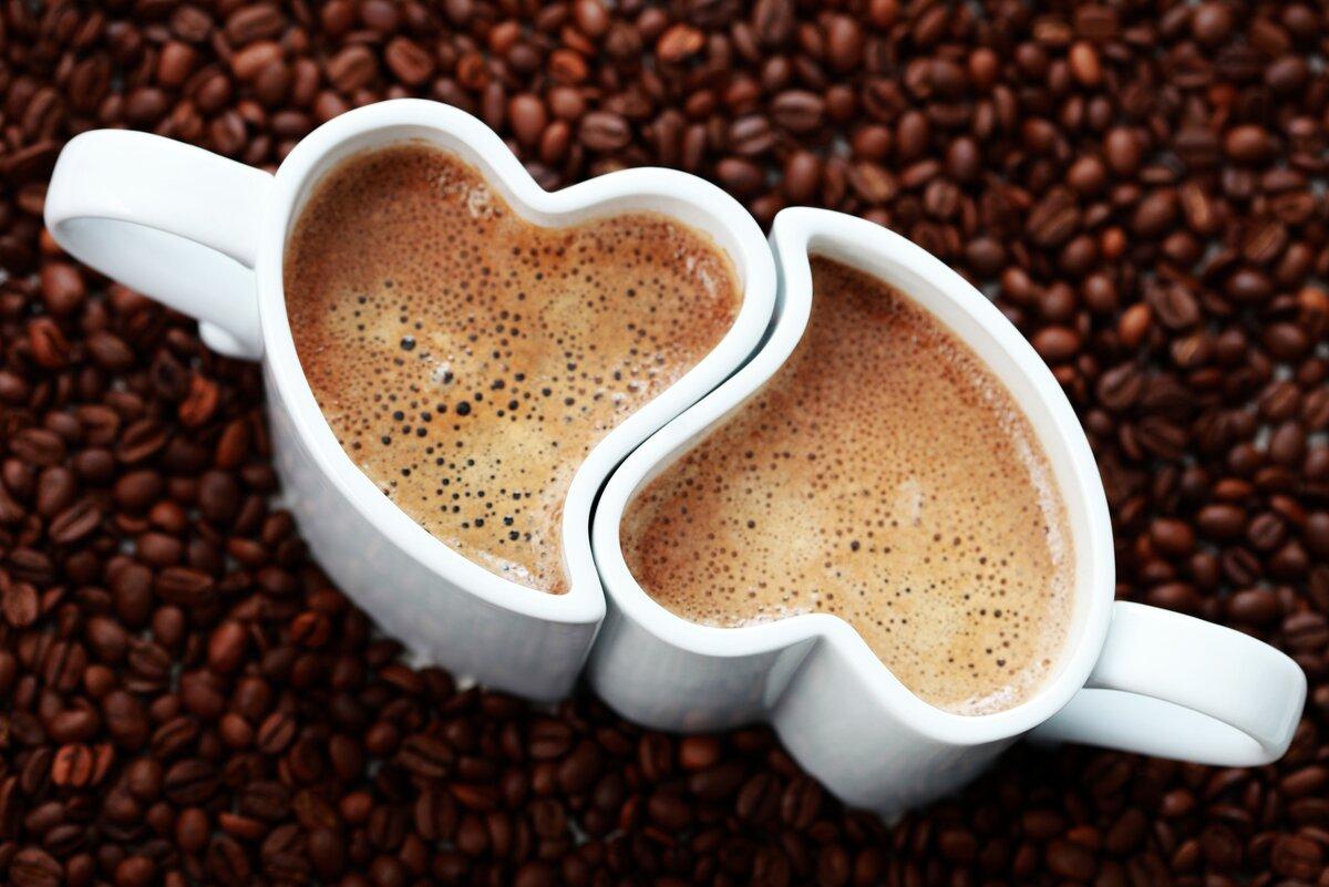 Фото и открытка с кофе