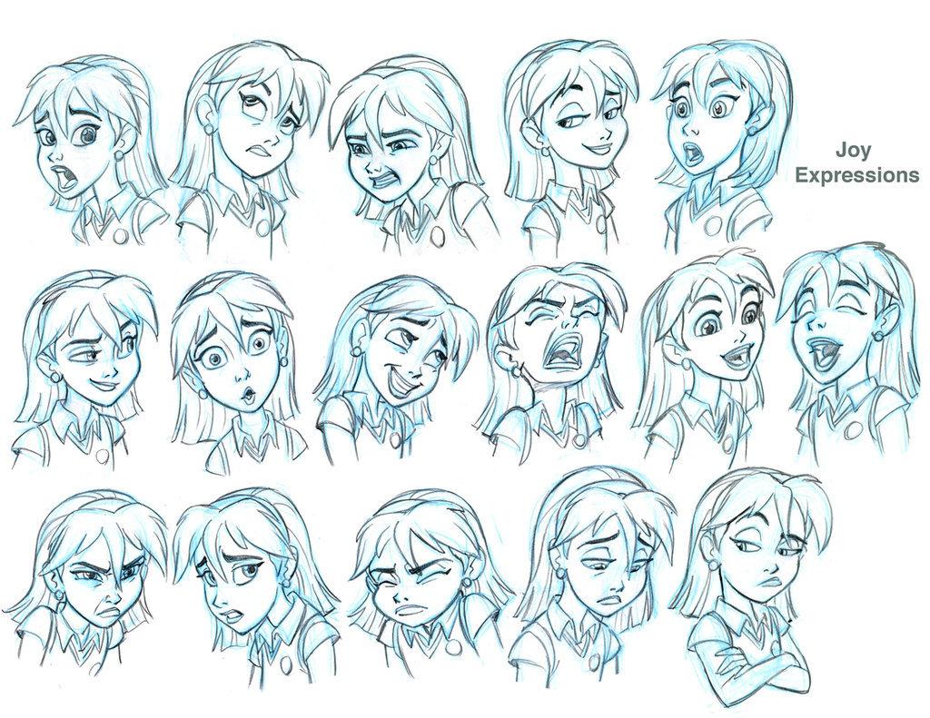 art-facial-expressions