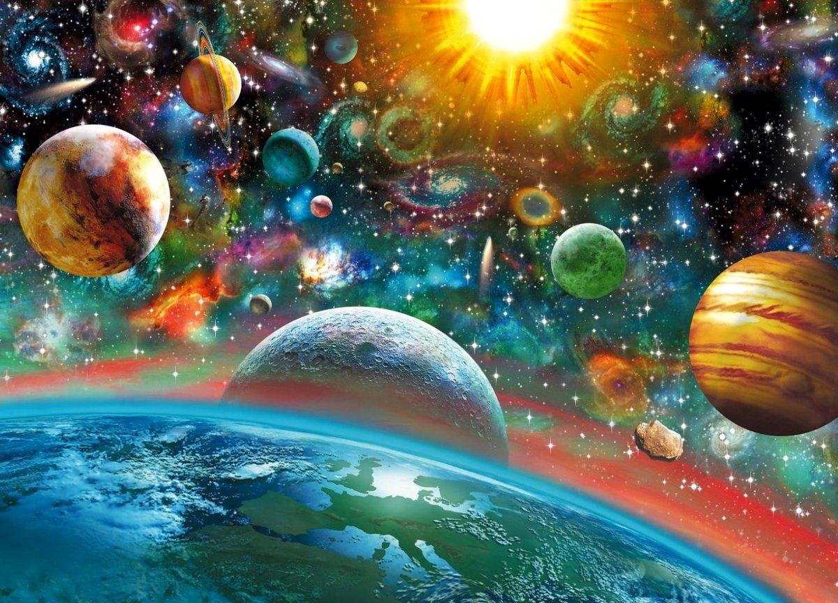 Цветные картинки космоса