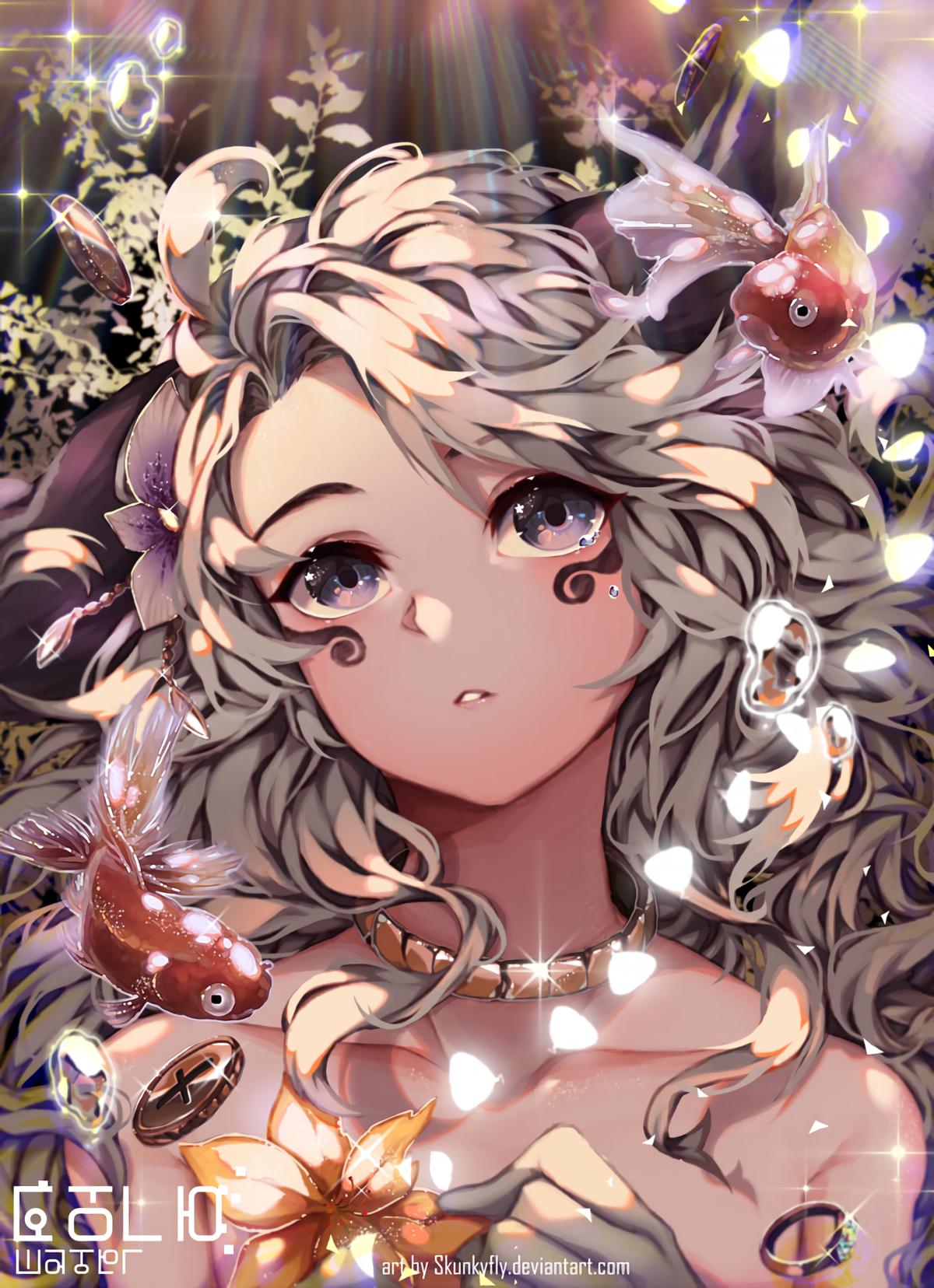 Картинки аниме красота