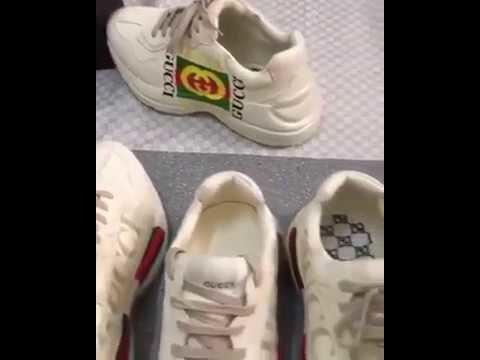 94ed1d804daf Кроссовки Rhyton Gucci logo leather sneaker. Кроссовки в Виннице. Большой  выбор поставщиков и цен