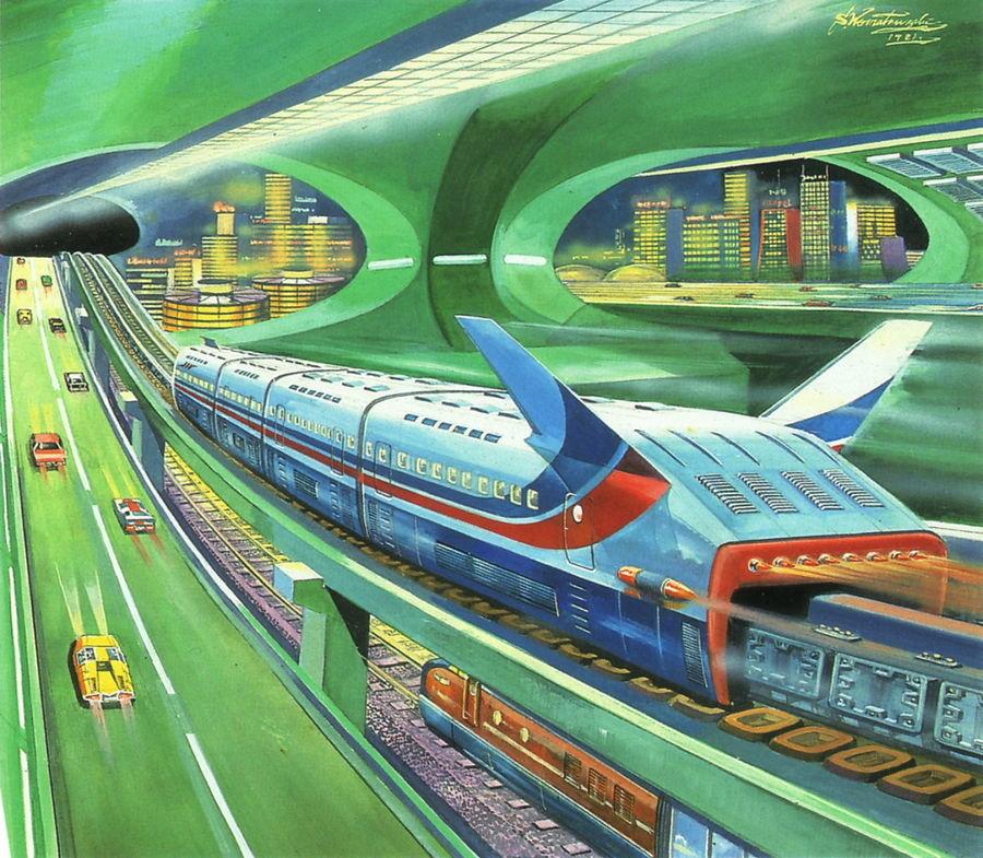 Картинки будущих поездов