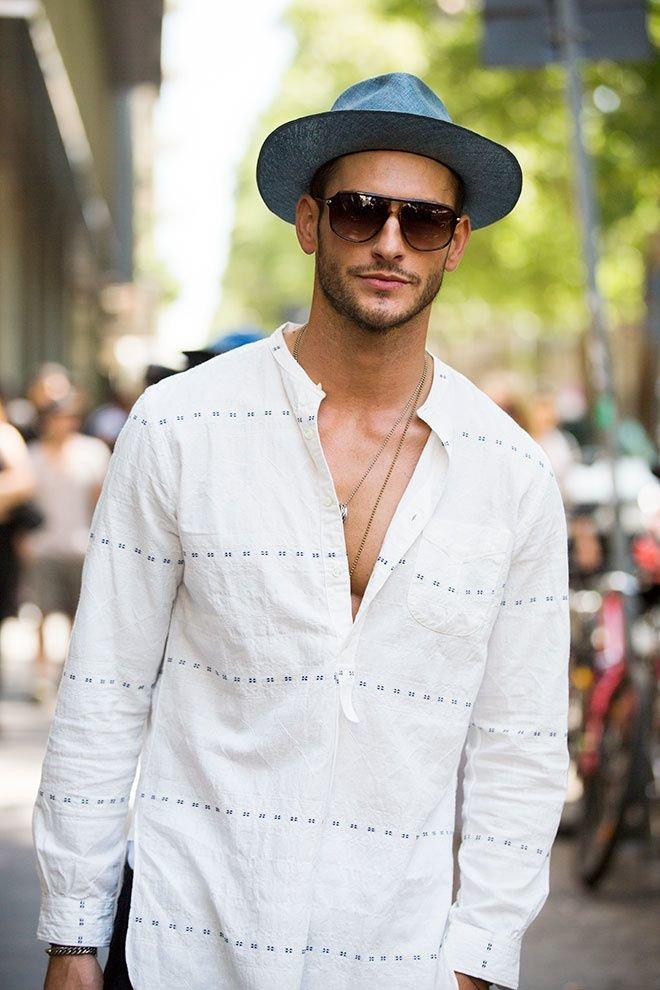 что это стильные фото мужчин в шляпе матричный
