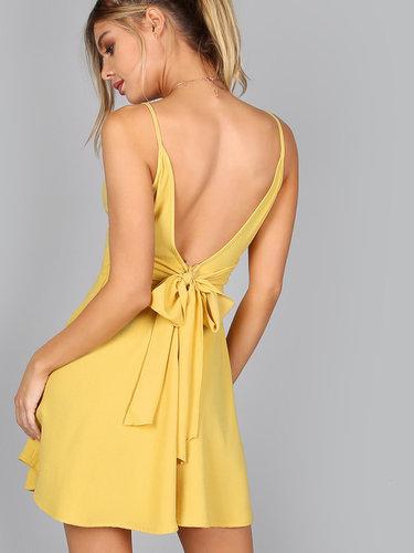 03e92362ee6 32 карточки в коллекции «Жёлтое платье с открытой спиной ...