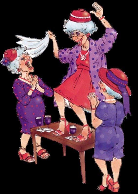 смешные картинки танцующих старушек схемы для сборки