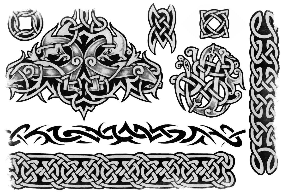 рисунки кельтских узоров решению украсить