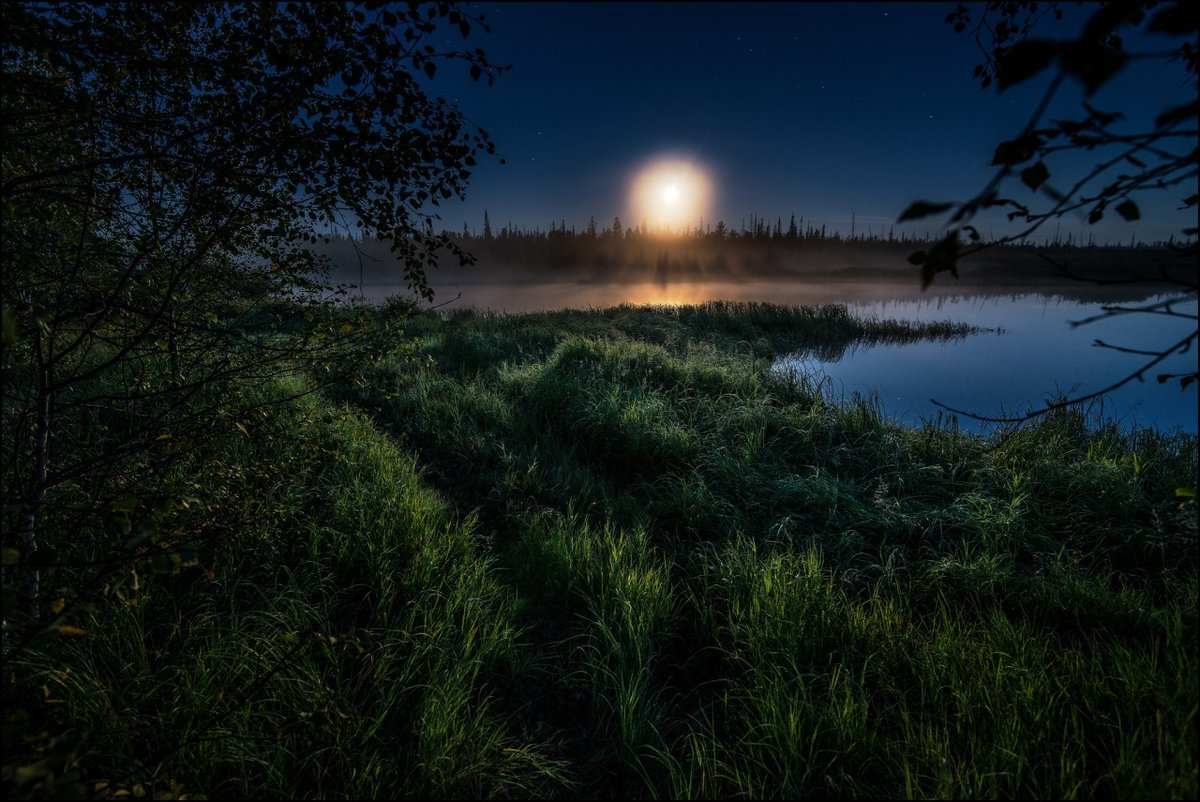 как фотографировать пейзаж ночью нехуй