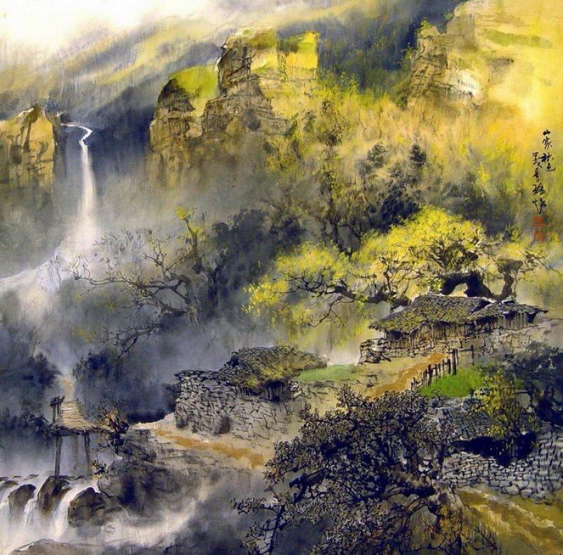 фото картин китайских художников сами