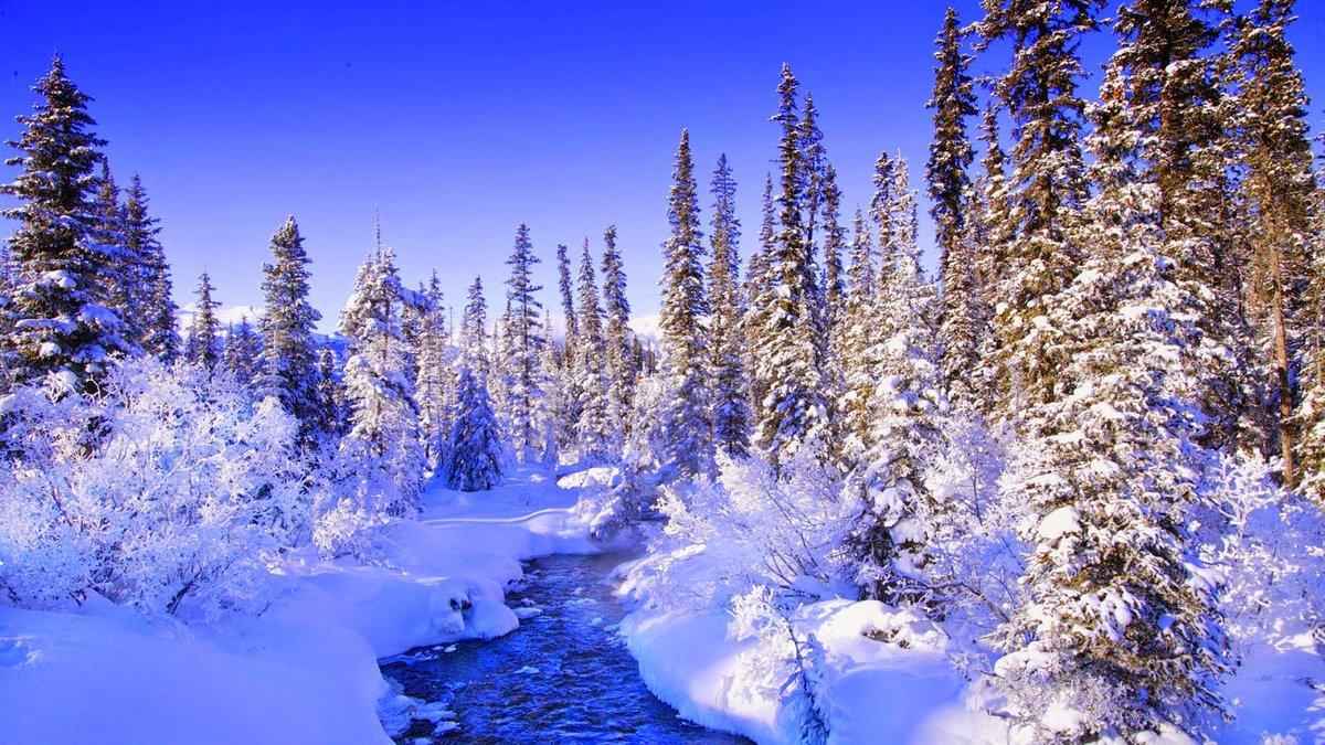Зима фото красивые на рабочий стол