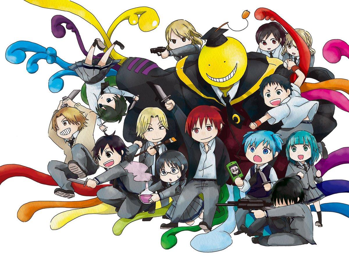 Прикольные картинки по аниме убийство в классной комнате