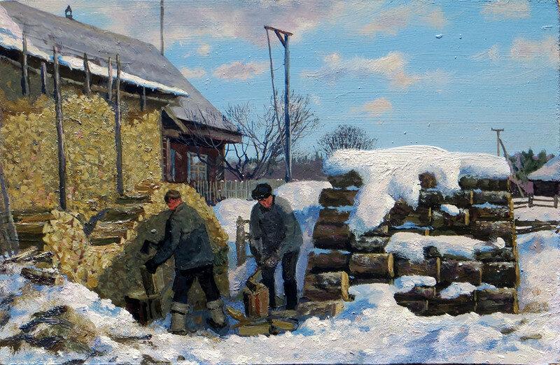 Картинки труда в деревне эфире
