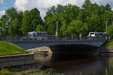 доковый мост в кронштадте