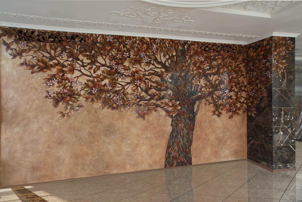 Декоративная отделка стен картинки