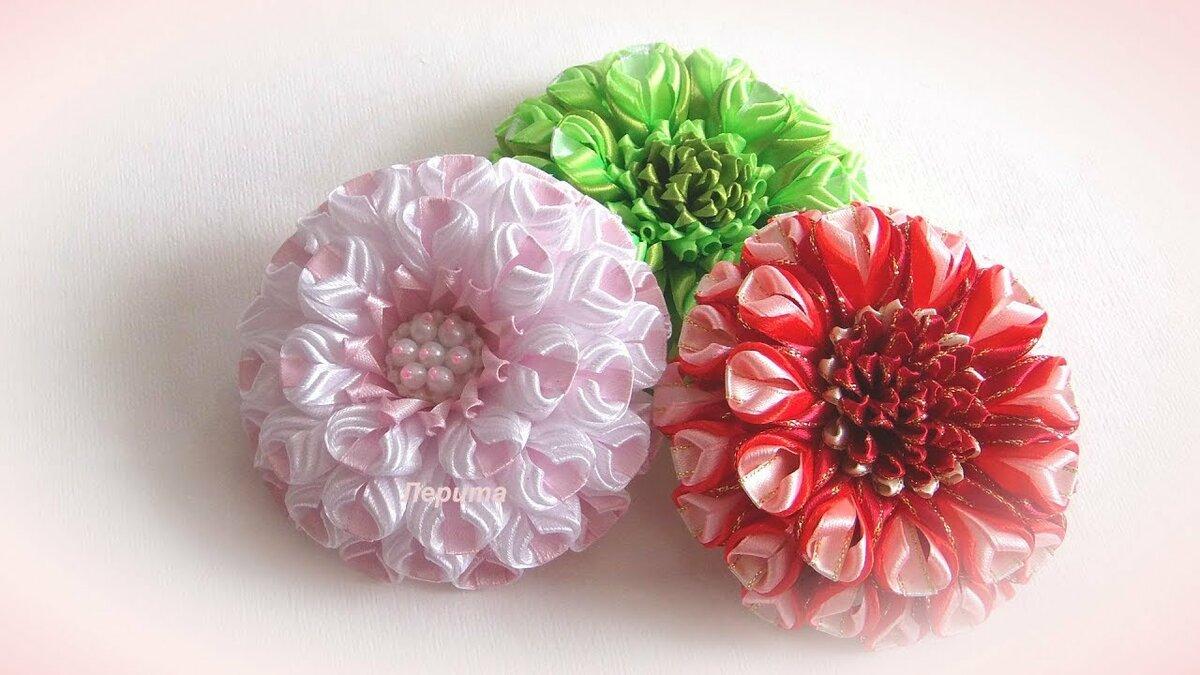 Цветы доставка, заказать цветы из ленты мк канзаши