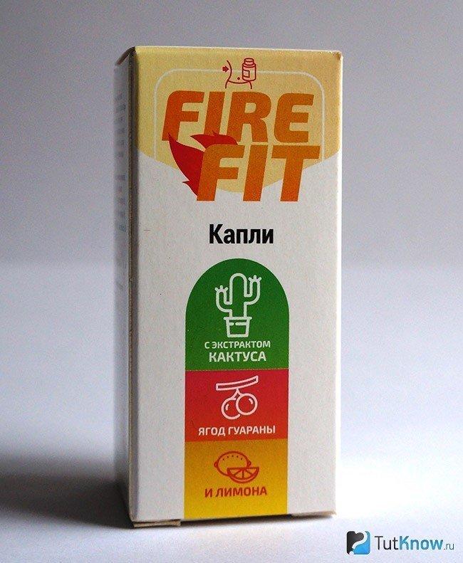 Fire Fit капли для похудения в Донецке