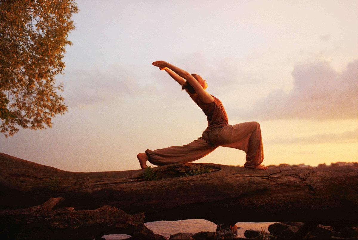 Открытки, йога картинки