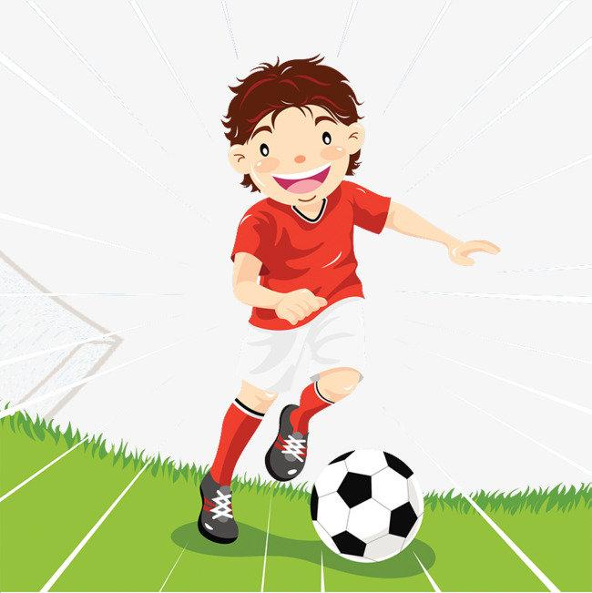 Картинка для детей футболистов