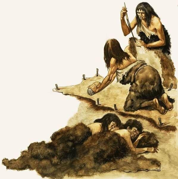 была такая слоган к картинке древних людей вирус