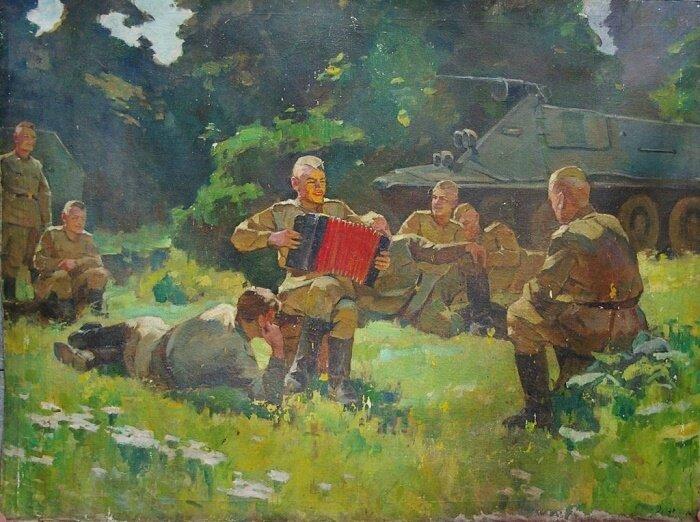 Картинки отечественная война на привале