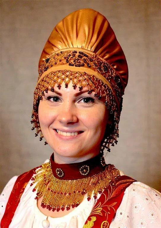 Фото русских головных уборов с названиями