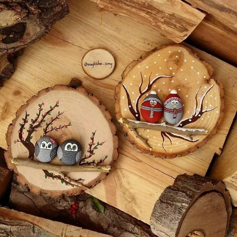 все деревянные картинки для декора дети любят различные